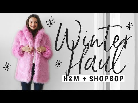 WINTER TRY-ON HAUL!!  h&m, reformation, shopbop, free people, missoma!