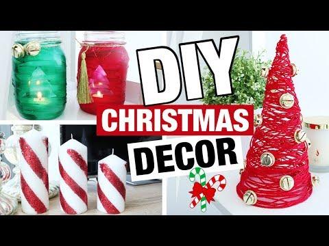 DIY Christmas Decor! Easy Fast DIY Christmas Ideas!