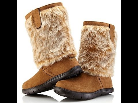 Tony Little Cheeks Fit Body Suede Boots