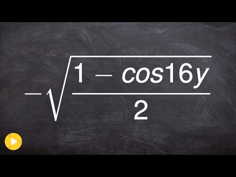 Simplifying a trigonometric expression using half angle formula