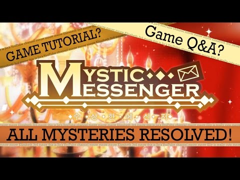 [TUTORIAL AND Q&A] Mystic Messenger - Solve Your Problems Here!
