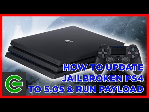 How to update your jailbroken PS4 console to firmware 5.05