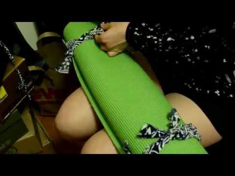 DIY Yoga Mat Bag/ Strap