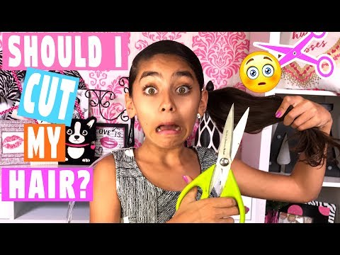 Should I Cut My Hair - Favorite Cute Girls Hairstyles : Mercedes World // GEM Sisters