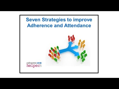 Webinar replay  Seven Strategies to improve Adherence and Attendance