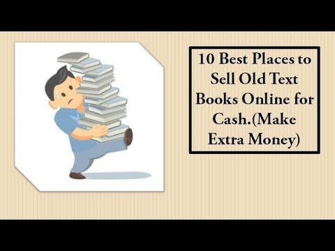 10 Best Places to Sell Old Text Books Online for Cash (Make Extra Money)