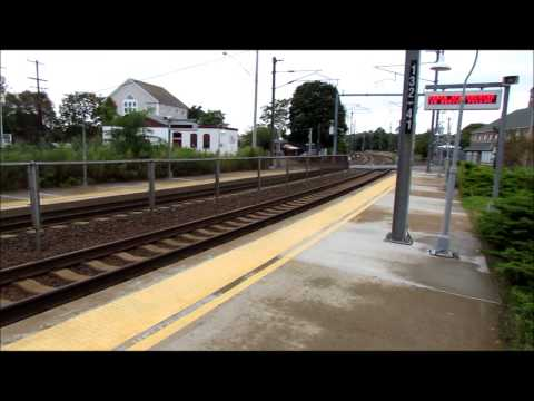 Amtrak Acela Action Mystic, CT 9 16 13 By Jim Gray