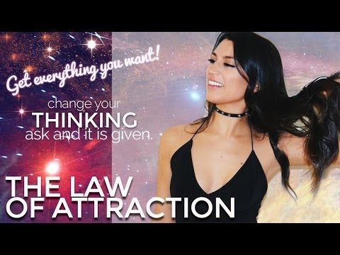 LAW OF ATTRACTION 101: GET EVERYTHING YOU WANT! My story, advice, experience