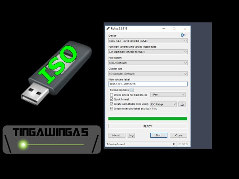 How to put an ISO onto a USB Drive