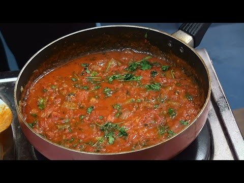 Simple Tomato Curry Making  -  Indian Recipes