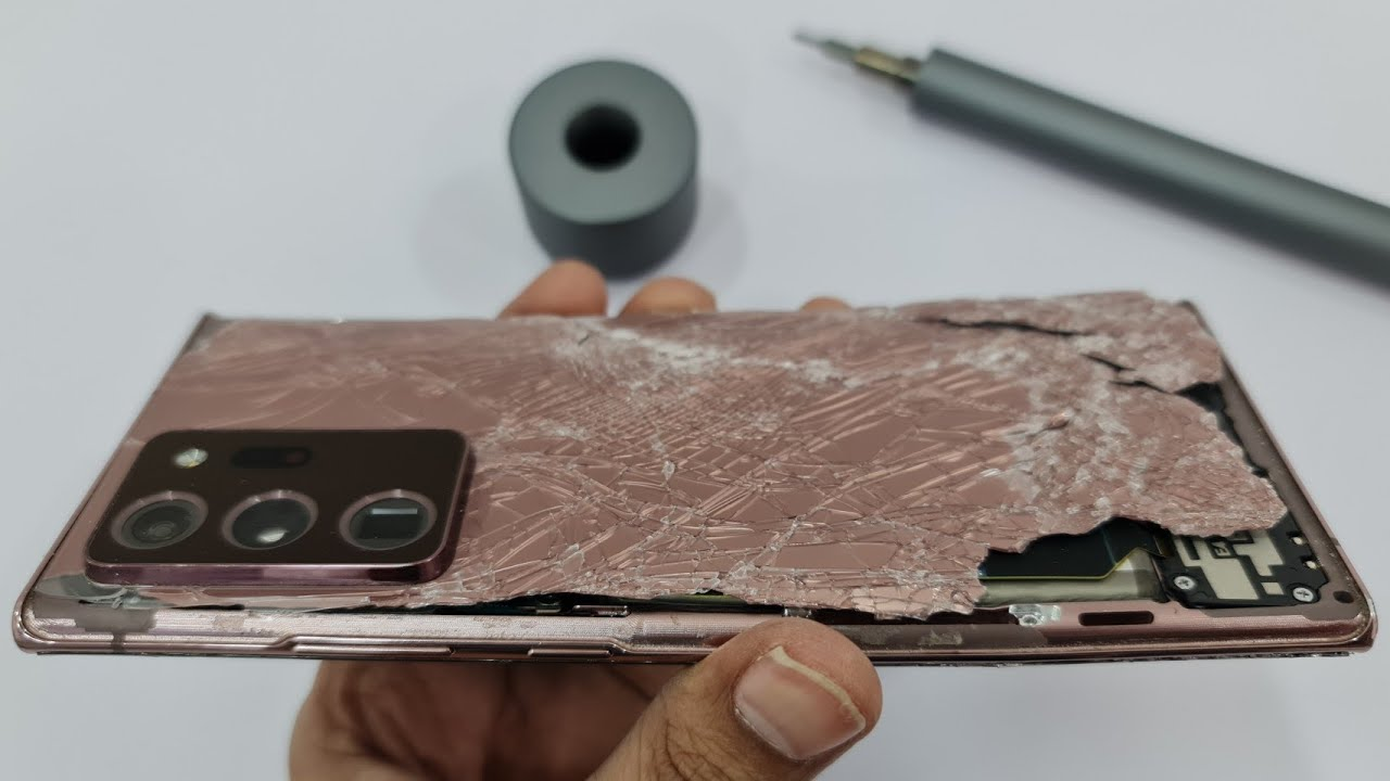 Samsung Note 20 Ultra Restoration | full break To New