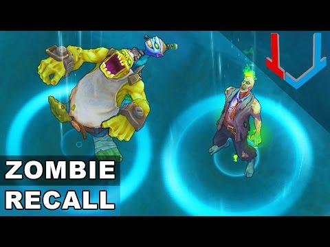 All Zombie Skins - RECALL Animations (League of Legends)