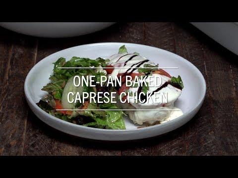 Baked Caprese Chicken