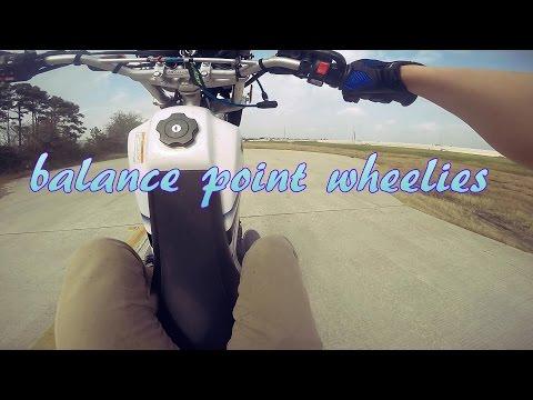 balance point wheelie practice