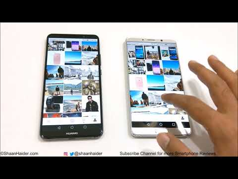 Huawei Mate 10 vs Huawei Mate 10 PRO - SPEED TEST