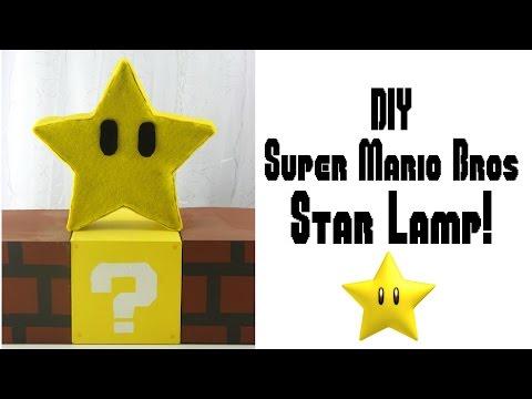 DIY Mario Bros Star Lamp | Nerdy Crafts Ep. 15