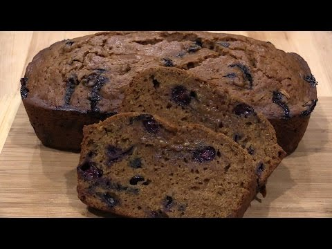 Delicious Blueberry Zucchini Bread Recipe with Karen