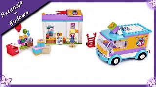 Review Andrea Lego Friends 2018 Drifting Diner Set 41349