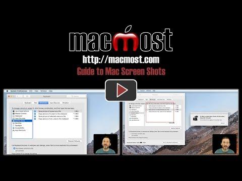 Guide to Mac Screen Shots (#1531)