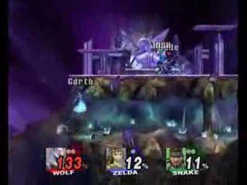 Super Smash Bros. Brawl SDA Wi-Fi Match 8.