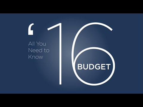 Irish Budget 2016 - All you need to know in 2 minutes