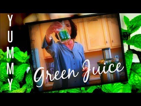 DELICIOUS GREEN JUICE? THE BEST GREEN JUICE RECIPE!