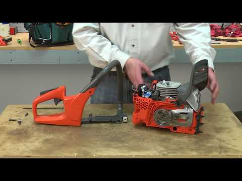 Husqvarna Chainsaw Repair - How to Replace the Front Handle