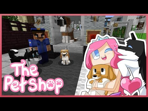 THE PET SHOP! Ep.2 The Dog Catcher!   Minecraft ROLEPLAY