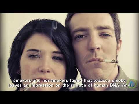 DNA Records Smoking Addiction Footprint