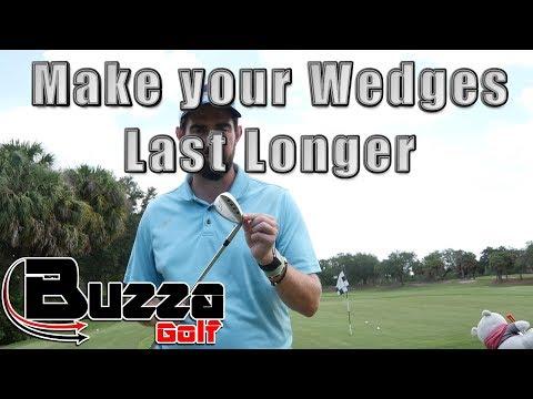 Make your wedges Last Longer (fresh grooves)