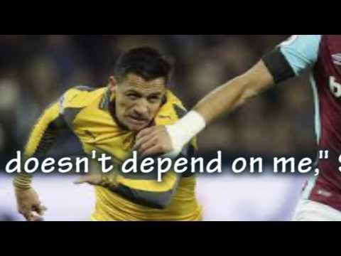 Sanchez tells Arsenal to keep him happy