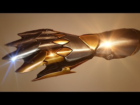 Armor Tutorial: How to make the Dark Hero Gauntlet