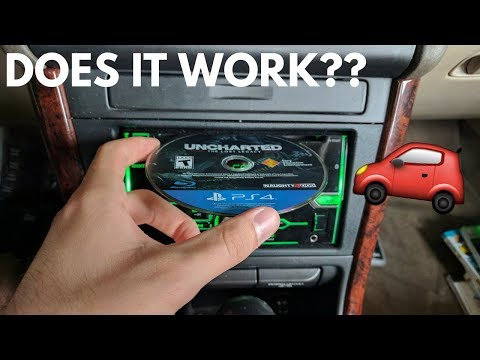 What Happens When You Put a Foreign Disc in a CAR CD PLAYER??