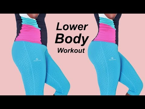 7 MIN LOWER BODY WORKOUT (Tone Up Your Glutes, Legs & Thighs at home) No Equipment Required