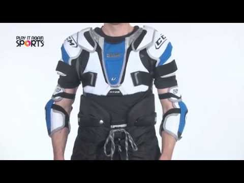 How to Fit Hockey Shoulder Pads
