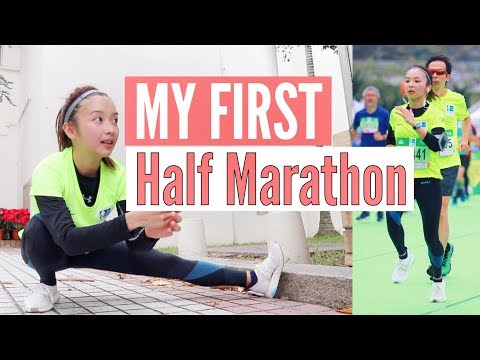 EATING MORE CARBS! My First HALF MARATHON | Get-Back-On-Track Diary  | Vlog