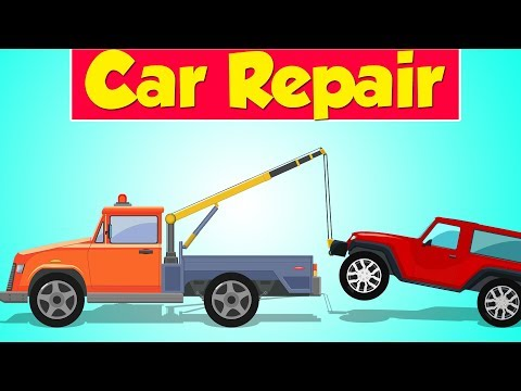 Tow Truck Garage | Jeep | Car Repair | Street Vehicle