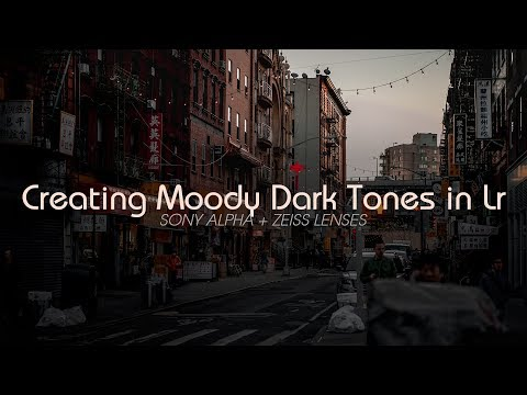How-To: Creating Moody Dark Tone Images in Lightroom for Instagram | Street Photography Lr Tutorial