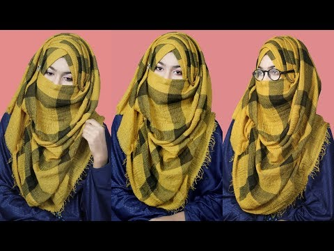 Xxx Mp4 Summer Special Without Inner Cap Niqab Style With Glass For All Dresses Full Coverage 3gp Sex