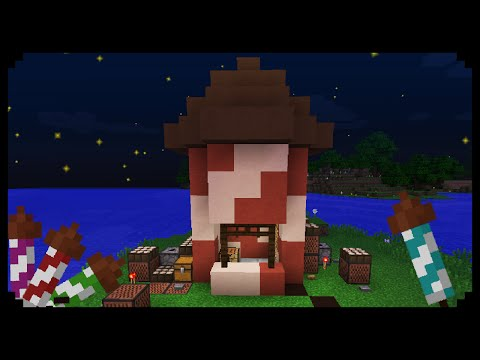 ✔ Minecraft: How to make a Firework Shop