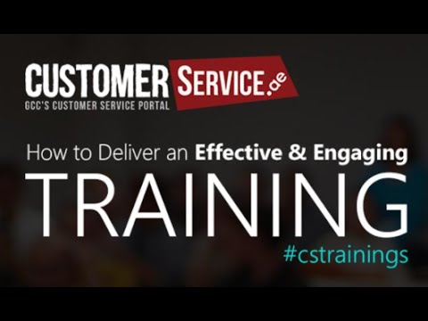 Webinar: How to deliver an effective & engaging training.