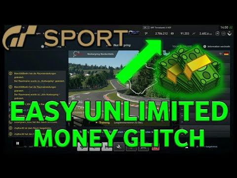 GRAN TURISMO SPORT UNLIMITED MONEY GLITCH Patch 1.18 [WORKING] |B¥ ZMiG 030