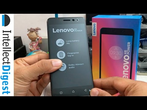 Lenovo K6 Power India Unboxing | Intellect Digest
