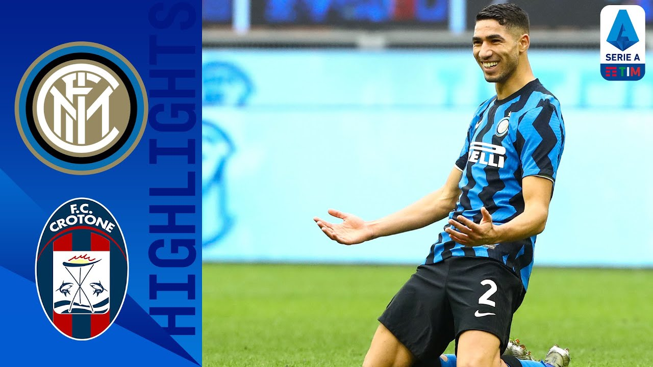 Inter 6-2 Crotone | Lautaro Martínez Scores Hat-trick As Inter Hit 6! | Serie A TIM