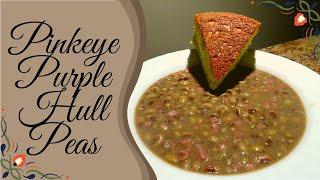 How To Cook Pinkeye Purple Hull Peas | Cooking What You Grow