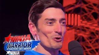 Après Koh Lanta, direction le parcours de Ninja Warrior pour Claude Dartois !