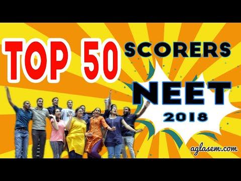 Top 50 scorers of NEET 2018 | Rank, Name, Marks, Percentile, State
