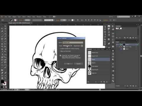 Adobe Illustrator - Spray Tool (Advanced Techniques)
