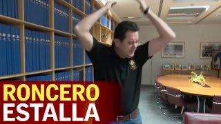 El brutal enfado de Roncero con los goles del Sevilla