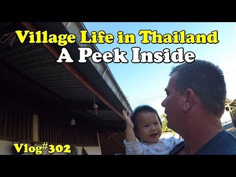 Village life in Thailand. A peek inside.